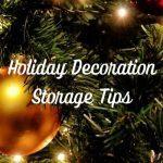 Holiday Decoration Storage